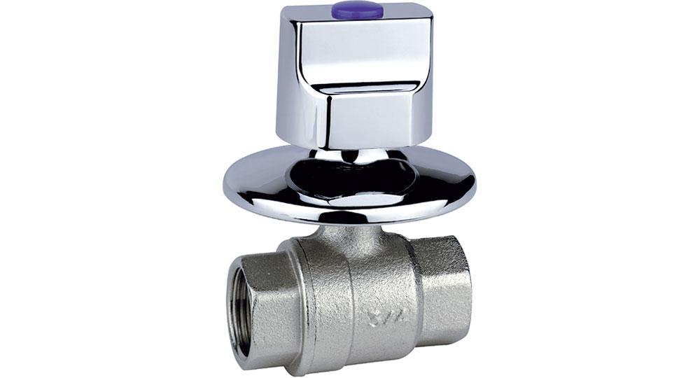 Recessed valves