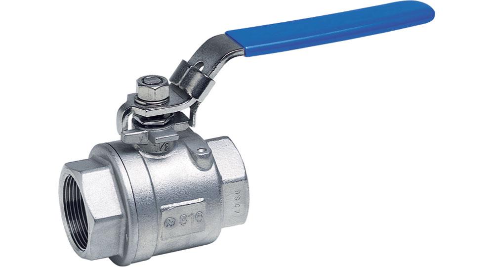 Two and three-way Inox ball valves