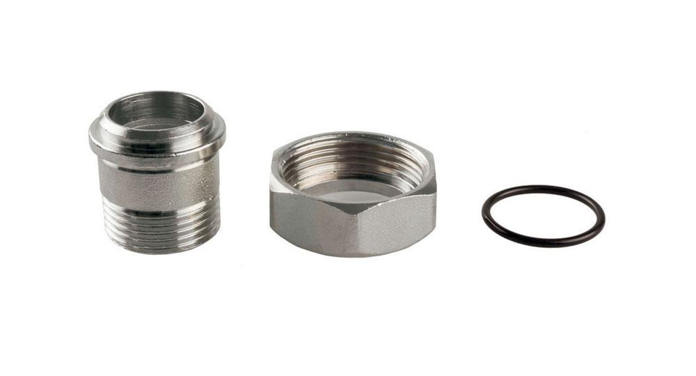 Bocchettone completo di O-Ring per serie 200/D - 200/N - 400.