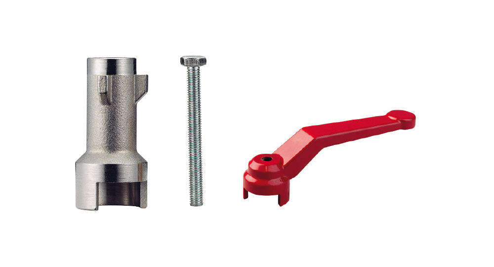 Extension handle retrofit KIT:  For range DREAM-FANS-COMPACT-HEAVY  Suitable for valves with female threaded stem