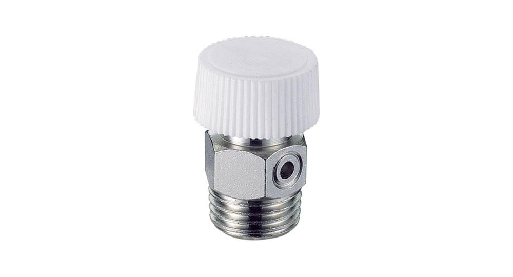 Manual air vents for radiators
